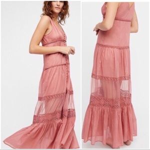 Free People festival Victorian style maxi